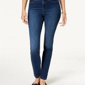 Charter Club Jeans - Charter Club Petite Tummy Control Skinny Jeans 10P